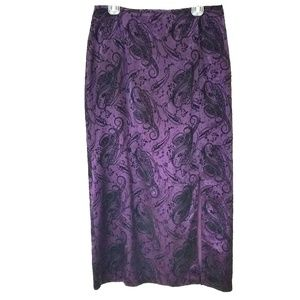 Formal Straight Maxi Skirt Sz 16